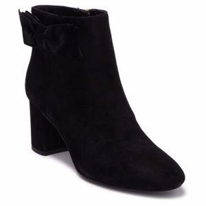 Kate Spade Size 9.5 Black Holly Block Heel Booties